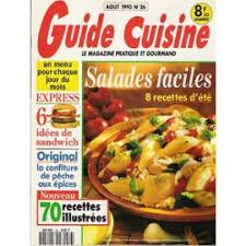 guide cuisine recettes cuisine n 26 salades faciles 8 recettes d été