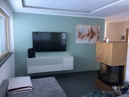 malerei strigl gestaltung wohnzimmer im dezenten salbei