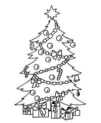 Christmas Tree Coloring Pages Here Is A Small Collection Of Printable
