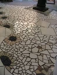 This Is Another Section Of A Mosaic Floor I Created