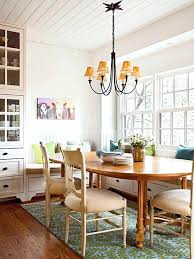 Carpet In Dining Room Brilliant Tips For Getting A Rug Just Right