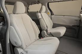 2013 Toyota Highlander Captains Chairs by 2013 Toyota Sienna Reviews And Rating Motor Trend
