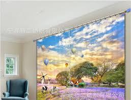 tapisserie pour bureau lavande impression 3d rideaux rideaux pour salon chambre