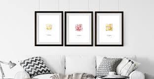 besondere geschenke bilder mit gold abstrakt atelier