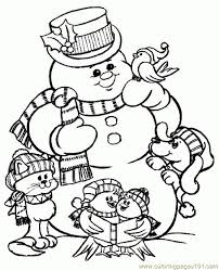 350 Best Kids Christmas Coloring Images On Pinterest