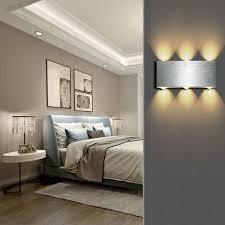 led minimalistischer deckenle warmweiß 6w wandleuchte moderne wandleuchte einfach deckenleuchte für schlafzimmer wohnzimmer bad flur treppe