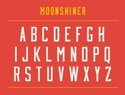Free Font Friday Moonshiner