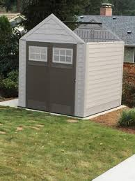 rubbermaid big max 7 ft x 7 ft storage shed storage and backyard