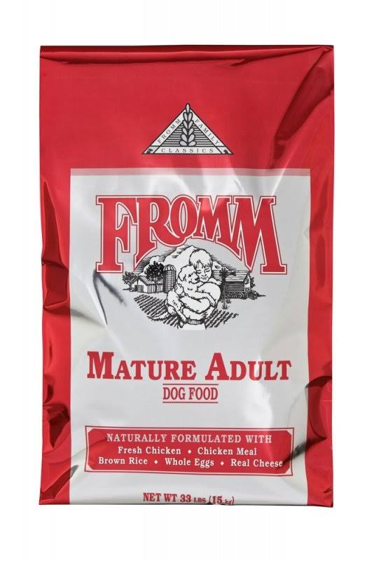 Fromm Family Classics Mature Formula Dry Dog Food (Food Size: 33-LB)