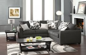 Corduroy Sectional Sofa Ashley by Interior Sectionals On Sale Charcoal Sectional