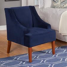 Chair: Navy Blue Velvet Accent Chair Apartment Living Room Interior With Red Sofa And Blue Chairs Chairs On Either Side Of White Chestofdrawers Below Fniture For Light Walls Baby White Gorgeous Gray Pictures Images Of Rooms Antique Table And In Bedroom With Blue 30 Unexpected Colors Best Color Combinations Walls Brown Fniture Contemporary Bedroom How To Design Lay Out A Small Modern Minimalist Bed Linen Curtains Stylish Unique Originals Store Singapore