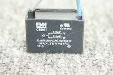Cbb61 Ceiling Fan Capacitor 2 Wire by Cbb61 1 5uf 2 5uf 3 Wire 250vac 50 60 Hz Ceiling Fan Capacitor Ebay