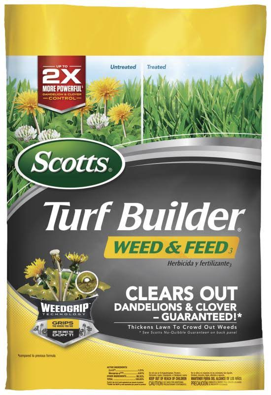 Scotts 5M Turf Builder Weed and Feed Fertilizer - 15lb