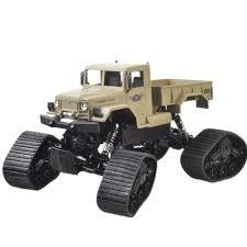 100 Rc Desert Truck ZEGAN ZGC1232W 112 24G 4WD 40CM Car Troops War Snow Beach