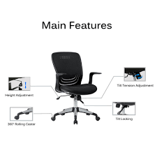 Mesh Office Chair With Adjustable Angle Recline Locking System, Black -  Moustache® Maharlika Office Chair Home Leather Designed Recling Swivel High Back Deco Alessio Chairs Executive Low Recliner The 14 Best Of 2019 Gear Patrol Teknik Ambassador Faux Cozy Desk For Exciting Room Happybuy With Footrest Pu Ergonomic Adjustable Armchair Computer Napping Double Layer Padding Recline Grey Fabric Office Chairs About The Most Wellknown Modern Cheap Find Us 38135 36 Offspecial Offer Computer Chair Home Headrest Staff Skin Comfort Boss High Back Recling Fniture Rotationin Racing Gaming