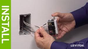 Humidity Sensing Bathroom Fan by Leviton Presents How To Install The Iphs5 Humidity Sensor U0026 Fan
