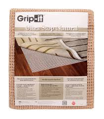 Rug Pads For Hardwood Floors Amazon by Amazon Com Grip It Ultra Stop Non Slip Rug Pad For Rugs On Hard