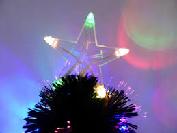 7ft Christmas Tree With Lights by 60cm Black Fibre Optic Christmas Tree With Multi Coloured Led