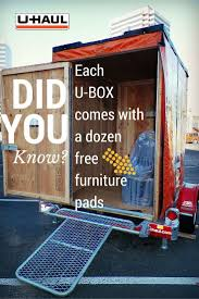 Did You Know That Each U-Box Comes With A Dozen Free Furniture Pads ... Diy Moving Heavy Items With A Dolly Youtube Uhaul Ratchet Tiedown Convertible Hand Truck Quick Release Magna Cart Personal First 5x8 Trailer Loaded Up And Ready To Go Latest News Breaking Headlines Top Stories Photos Rug Storage Bag Large Rent Hinds Inventory On Equipment Moving Pads Appliance Dollies Hand Fniture