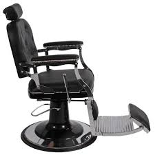 Fully Reclining Barber Chair by Heirloom Barber Chair Keller International