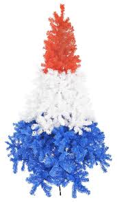 Christmas Trees Types Uk by Lifetime Trees Gorgeous 7ft 2 1m Unique Red White And Blue