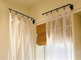 best 25 swing arm curtain rods ideas on pinterest wooden wall