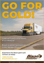 100 Truck It Transport Bison News