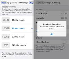 How to Upgrade iCloud Storage Plan