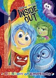 Disney Pixar INSIDE OUT Movie Books For Kids