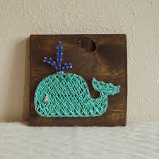 Whale Nursery String Art By PurplePalletDesigns On Etsy