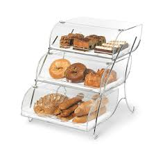 Rosseto BAK2944 3 Tier Countertop Bakery Display Case