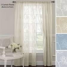 Searsca Sheer Curtains by Jessica Ninon Ruffled Wide Priscilla Curtains Priscilla Curtains