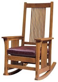 rocking chair design stickley spindle rocker 376 r craftsman