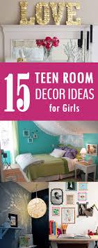 15 Easy DIY Teen Room Decor Ideas For Girls Djpeter