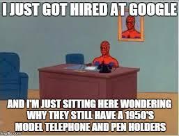 spiderman computer desk memes imgflip