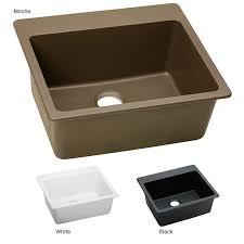 elkay elg2522 e granite 25x22 in single bowl top mount sink free