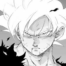 Goku Serious Seris Anime Dibujo De Goku Dragon Ball Y