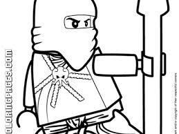 Lego Ninjago Jay Coloring Page H M Pages