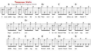 Tennessee Waltz In G