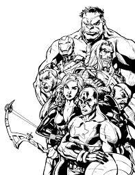 Livre De Coloriage Avengers 49480 Velaforcongresscom