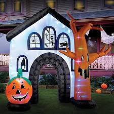 Inflatable Halloween Cat Archway by Best Halloween Inflatable Yard Decorations For A Spooky Halloween