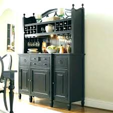 Wine Buffet Cabinet Dining Kitchen Sideboard Hutch Wood Venetta C With Glass Doors And Tables Table