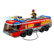 LEGO City Airport Fire Truck 60061 - £25.00 - Hamleys For Toys And Games