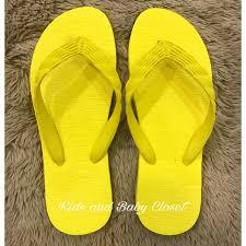 Beachwalk Yellow Rubber Slippers