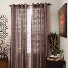 Curtain Grommets Kit Uk by Striped Curtains U0026 Drapes You U0027ll Love Wayfair