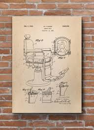 Koken Barber Chair Model Numbers by Barber Chair Patent Print Barber Chair Patent Barber Shop