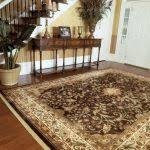 Shaw Area Rugs with Contemporary Dining Room and Indigo Area Rug