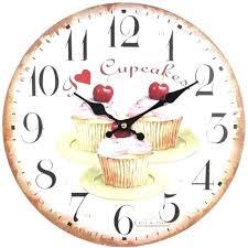 horloge cuisine pas cher pendule murale de cuisine pendule de cuisine moderne the secret