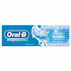 Oral-B Complete Toothpaste - Extreme Mint, 75ml