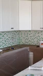 inside corner gap kitchen backsplash installation diy ceramic